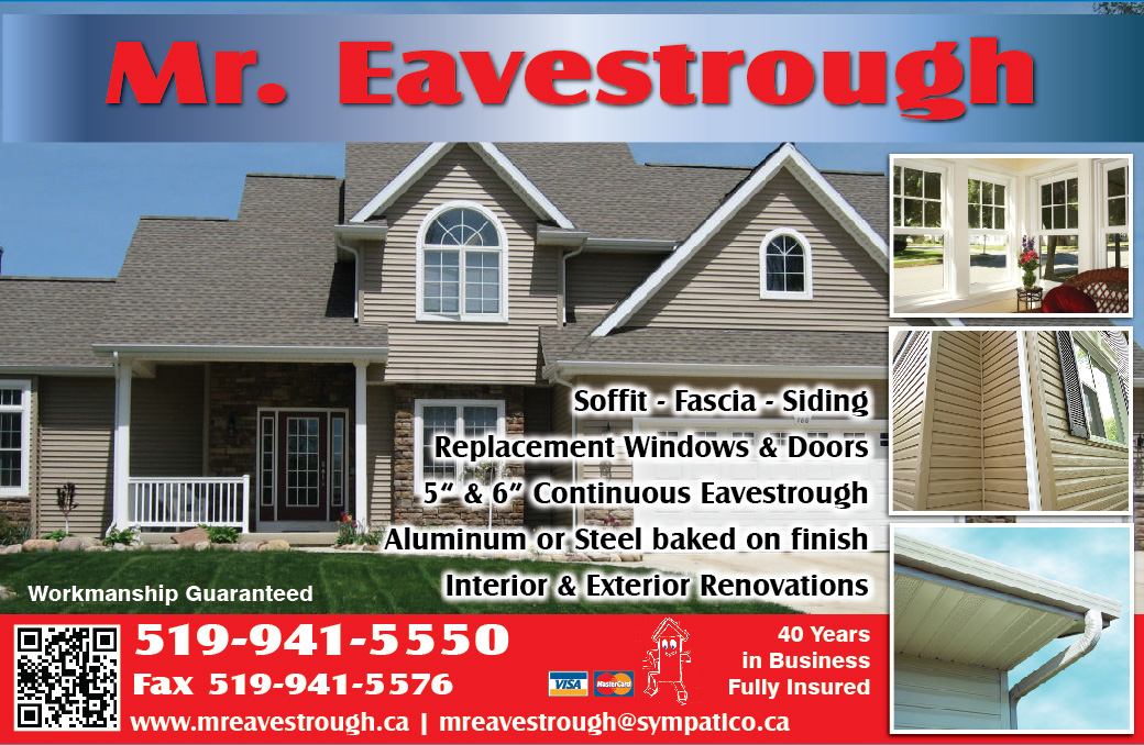 Mr Eavestrough Photo